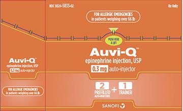 Auvi-q (Epinephrine) Injection [Sanofi-aventis U.s. Llc]
